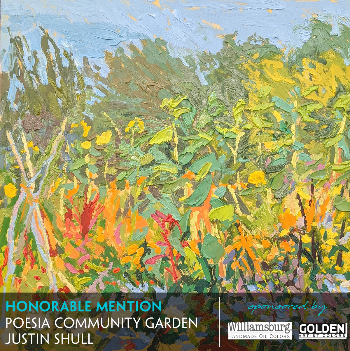 Poesia Community Garden by Justin Shull